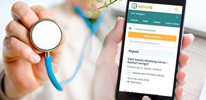Tanya Dokter di Aplikasi Kesehatan Terbaik SehatQ